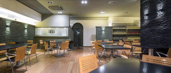 Restaurante Baden, comedor