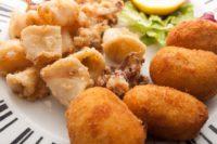 Restaurante Baden, fritura de pescado