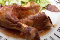 Restaurante Baden, cordero asado